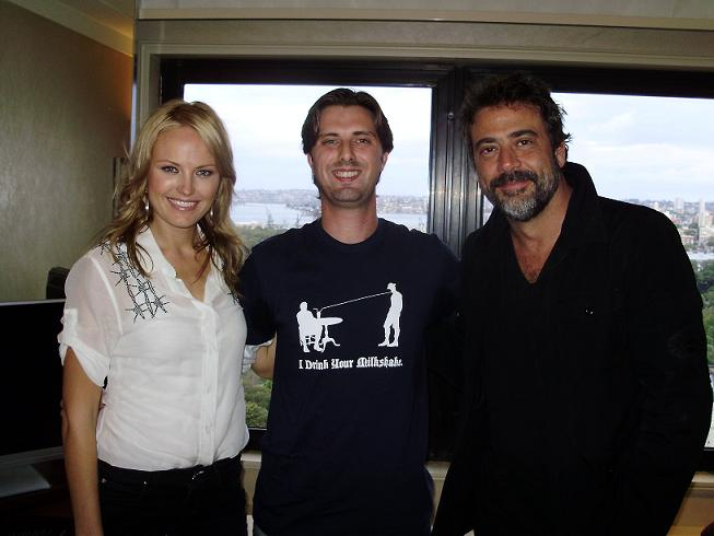 Malin Akerman, Jeffrey Dean Morgan, and Me