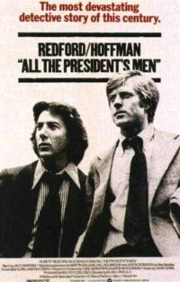 All the Presidents Men poster