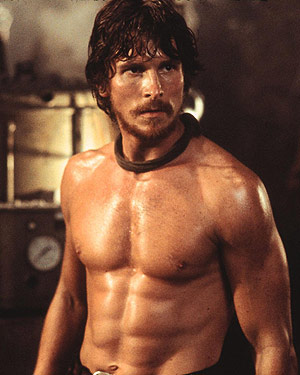 Christian Bale in Reign on Fire