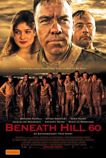 Beneath Hill 60 movie poster large