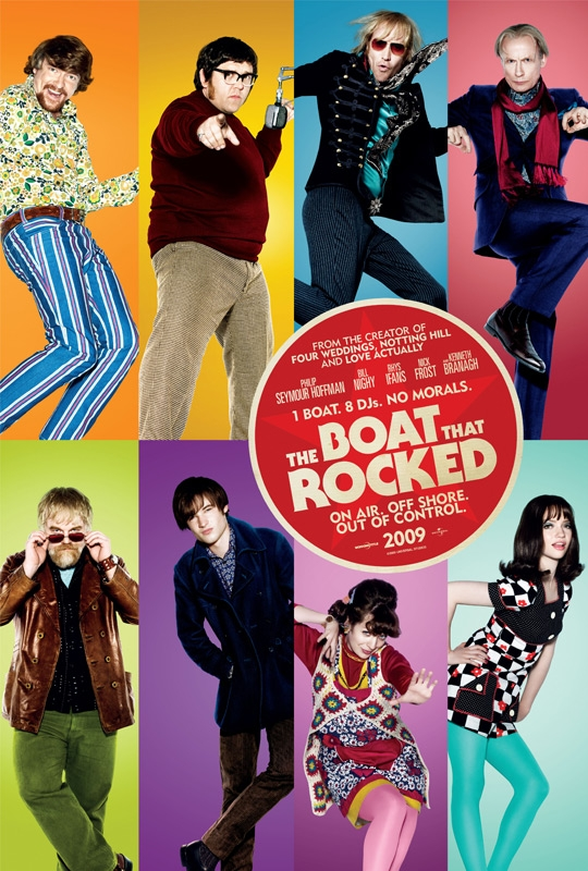 The Boat That Rocked Movie Poster