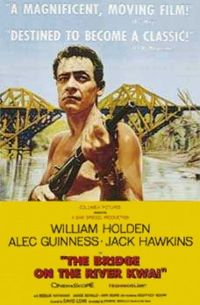 The Bridge of the River Kwai poster