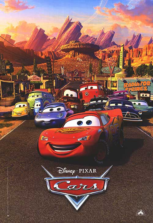 cars the movie logo. Cars Movie Poster