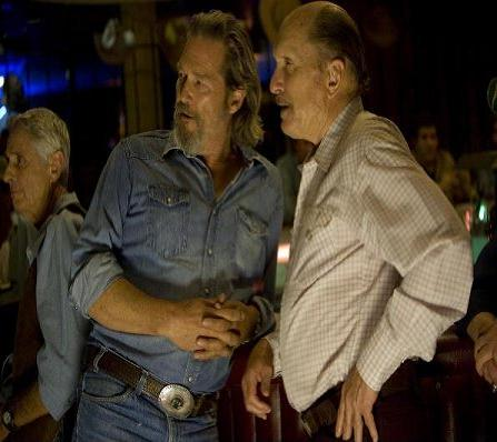 Crazy Heart image featuring featuring Jeff Bridges and Robert Duvall