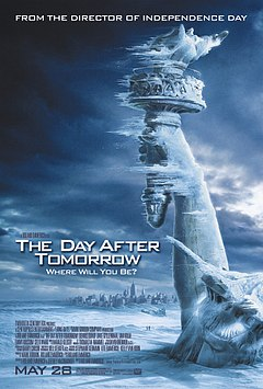 The Day After Tomorrow poster mini