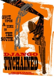 Django Unchained fan psoter
