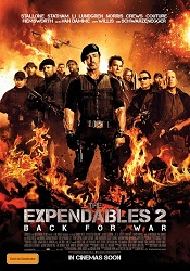 The Expendables Part 2 poster