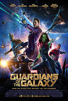 Guardians of the Galaxy psoter