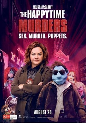 The Happytime Murders poster