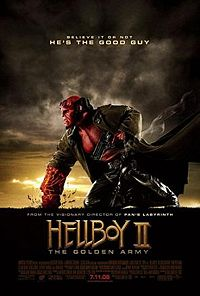 Hellboy II: The Goldren Army poster