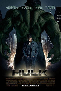 The Incredble Hulk poster