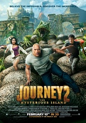 Journey 2: The Mysterious Island psoter