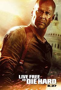 Live Free of Die Hard poster