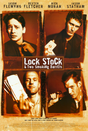 Lock, Stock & Two Smoking Barrrells poster