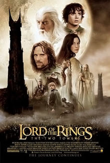Lord of the Rings Two Towers poster