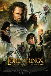 Lord of the Rings the Return of the King poster