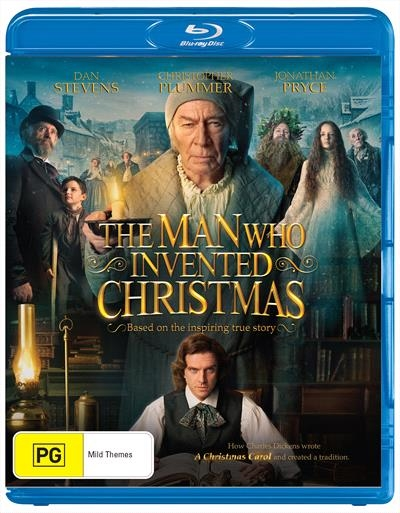 Man Who Invented Christmas Blu-ray