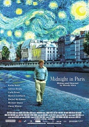 Midnight in Paris poser