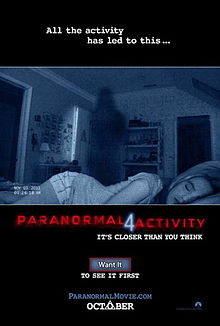 Paranormal Activity 4 poster