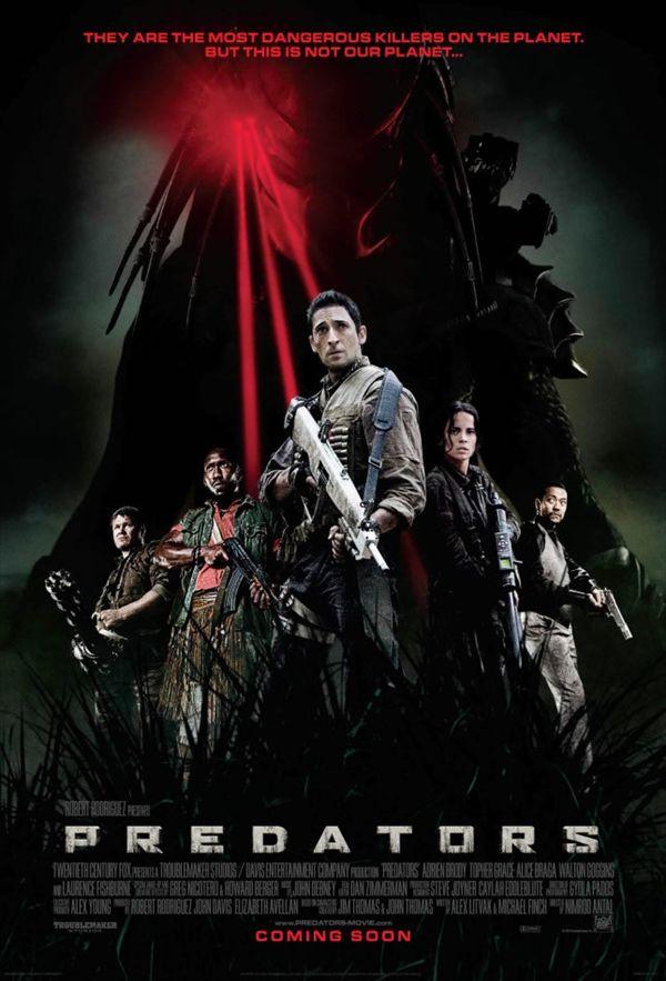 Predators Movie Logo Predators Movie Poster 03