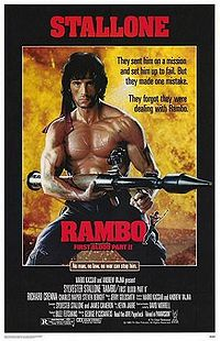 Rambo: First Blodd Part II poster