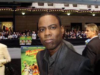 Chris Rock Madagascar 2 Sydney Premiere