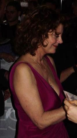 Susan Sarandon at The Lovely Bones Sydney premiere