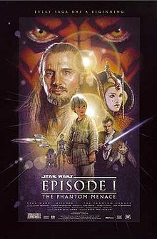 Star Wars Episode I - The Phantom Menace poster
