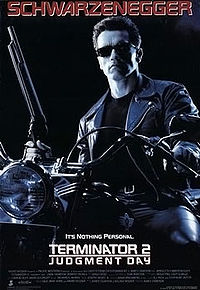Terminator 2 Judgement Day poster