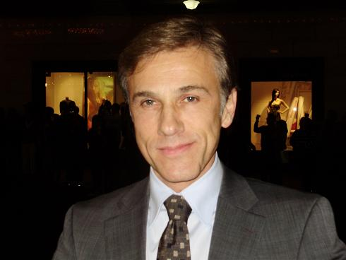 Christoph Waltz Inglorious Basterds Syndey Premiere