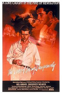 The Year of Living Dangerously movie poster